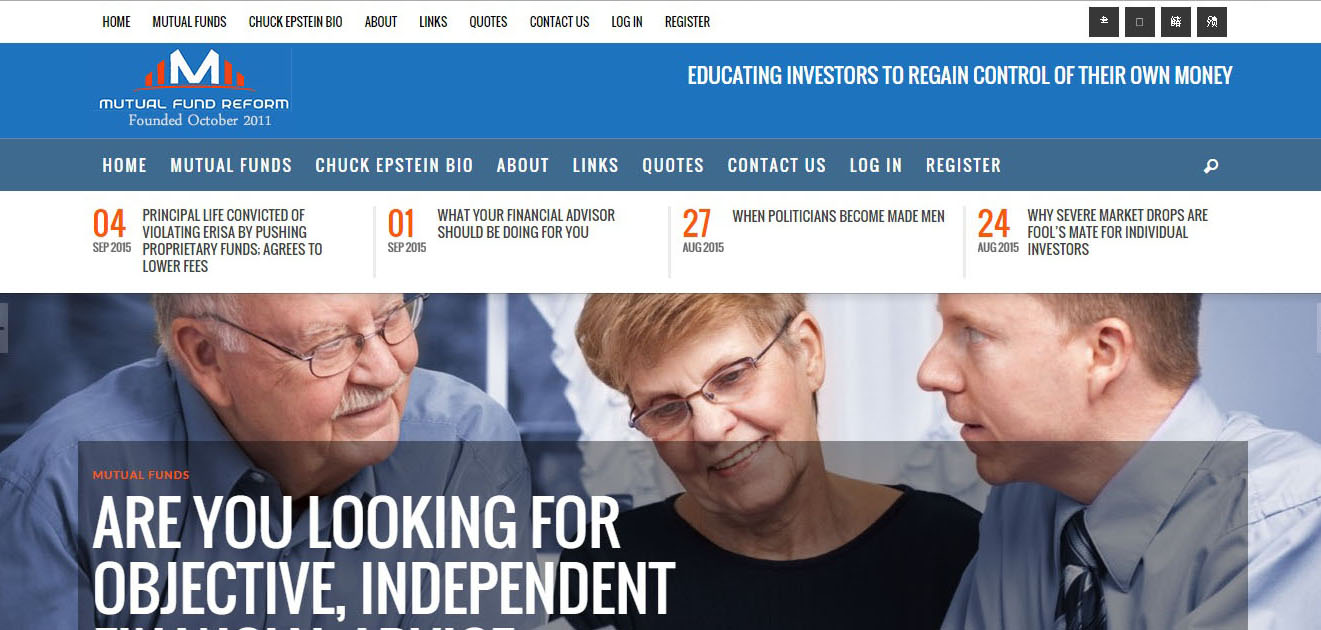 Mutual Fund Reform - Full Site - www.mutualfundreform.com